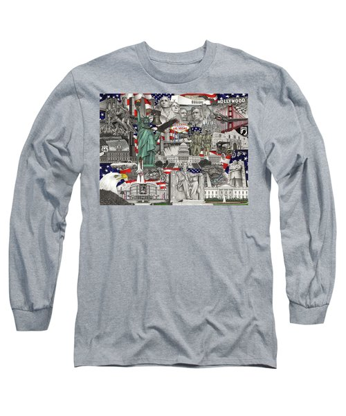 Masterpiece America Long Sleeve T-Shirt