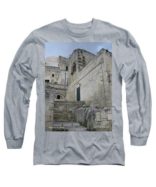 Matera Houses Long Sleeve T-Shirt