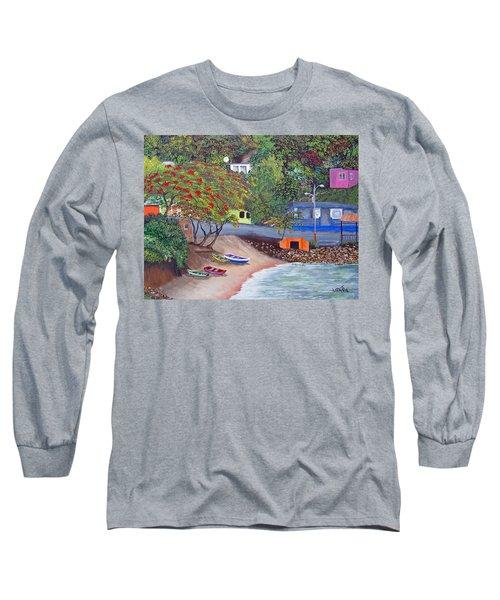 Maunabo Pescaderia Long Sleeve T-Shirt