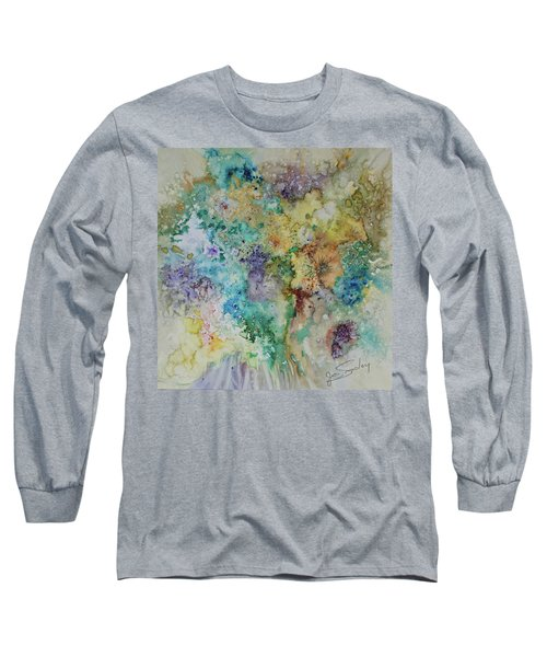 May Flowers Long Sleeve T-Shirt by Joanne Smoley