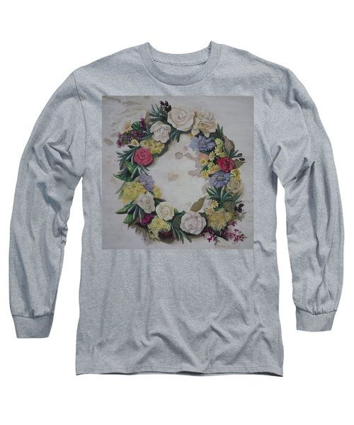 May Wreath Long Sleeve T-Shirt
