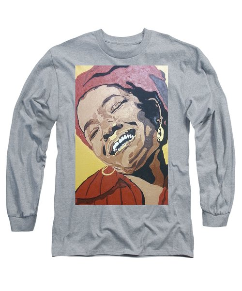 Maya Angelou Long Sleeve T-Shirt