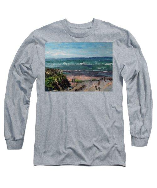 Mayflower Beach Long Sleeve T-Shirt