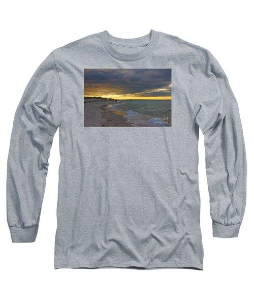 Mayflower Beach Walk Long Sleeve T-Shirt