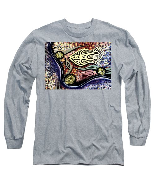 Mayim Long Sleeve T-Shirt by Luke Galutia