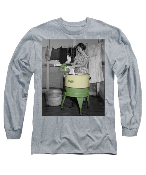 Maytag Woman Long Sleeve T-Shirt
