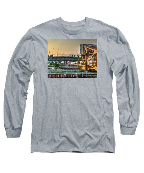 Mbta Bascule Bridge 010 Long Sleeve T-Shirt