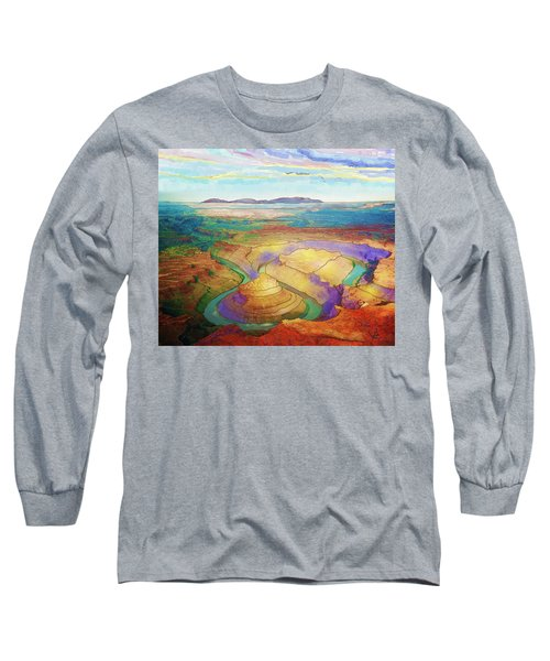 Meander Canyon Long Sleeve T-Shirt