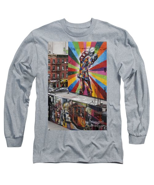 Long Sleeve T-Shirt featuring the photograph Meatpacking District Nyc by Juergen Held