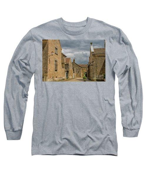 Medieval Village In France Long Sleeve T-Shirt
