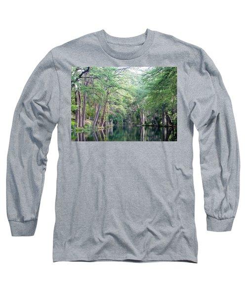 Medina Creek In Summer Long Sleeve T-Shirt