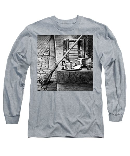 Long Sleeve T-Shirt featuring the photograph Medina Tea Break by Marion McCristall