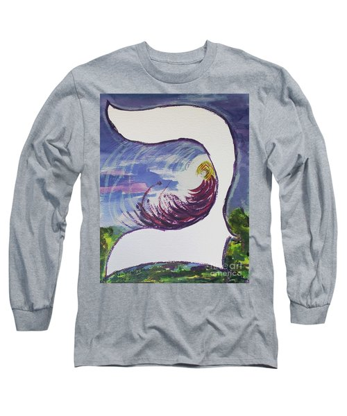 Meditating In The Beit Long Sleeve T-Shirt