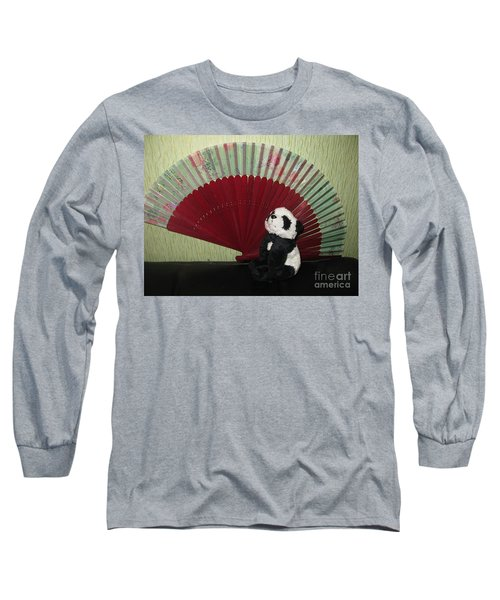 Long Sleeve T-Shirt featuring the photograph Meditation Hour by Ausra Huntington nee Paulauskaite