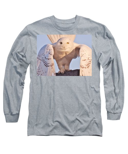 Long Sleeve T-Shirt featuring the photograph Meet Roofus by Elaine Franklin