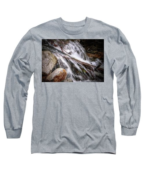 Melting Snow Falls Long Sleeve T-Shirt