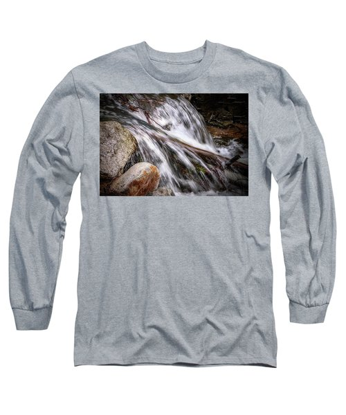 Melting Snow Falls Long Sleeve T-Shirt