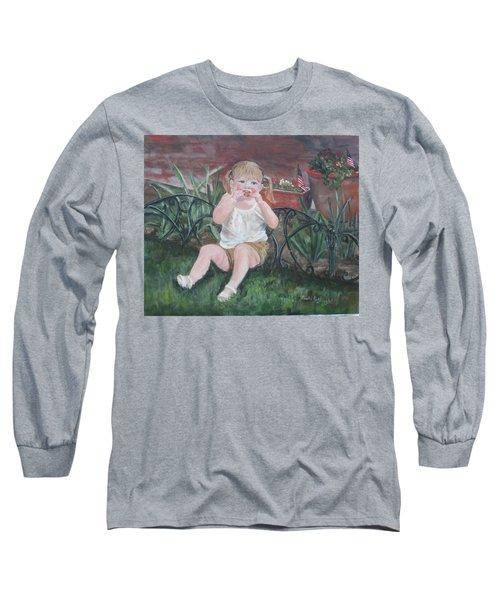Memorial Day Bbq Long Sleeve T-Shirt