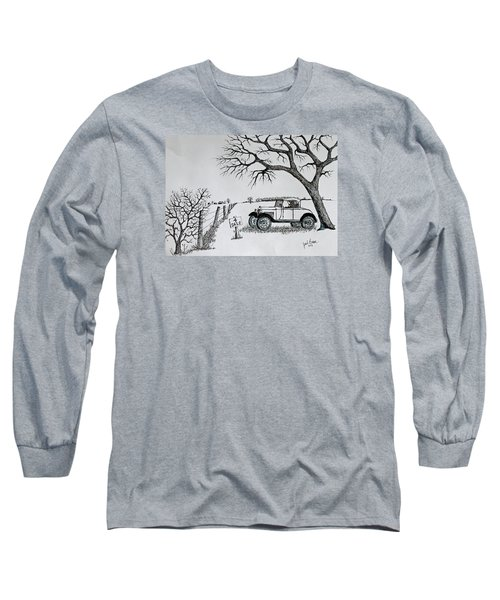 Memories For Sale Long Sleeve T-Shirt by Jack G Brauer