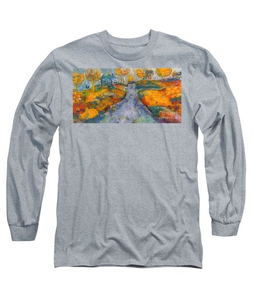Memories Of Home In Autumn Long Sleeve T-Shirt