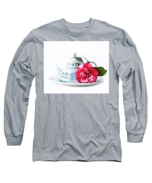 Memories Red Long Sleeve T-Shirt