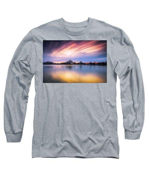 Mental Attitude Long Sleeve T-Shirt by Edward Kreis