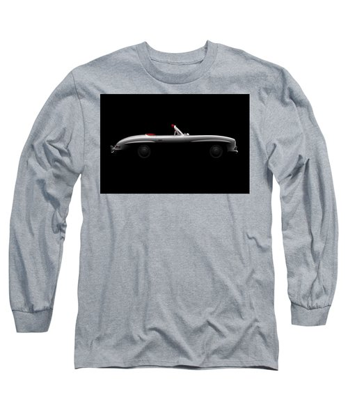 Mercedes 300 Sl Roadster - Side View Long Sleeve T-Shirt