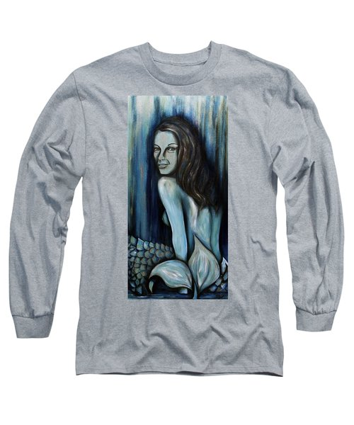 Mermaids Are Real Long Sleeve T-Shirt