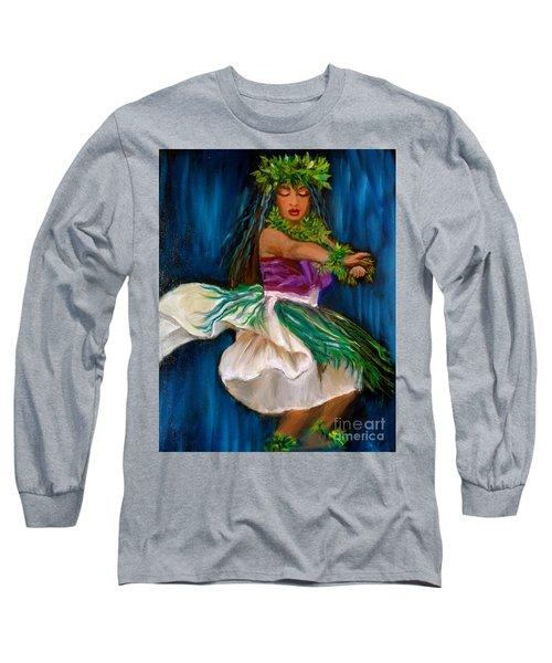 Merrie Monarch Hula Long Sleeve T-Shirt