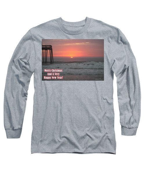 Merry Christmas Sunrise  Long Sleeve T-Shirt
