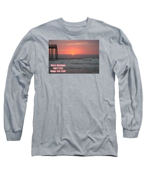 Merry Christmas Sunrise  Long Sleeve T-Shirt