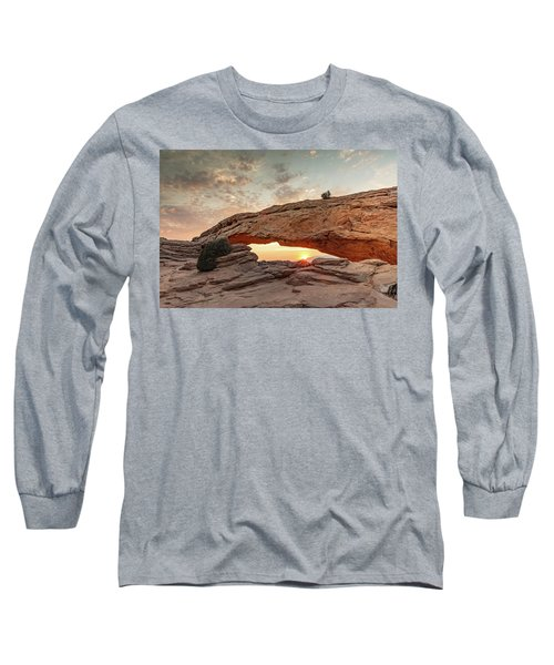 Mesa Arch At Sunrise Long Sleeve T-Shirt