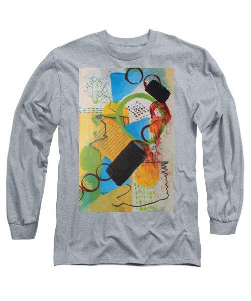 Messy Circles Of Life Long Sleeve T-Shirt