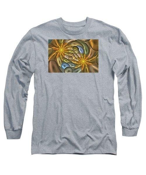 Metallic Mitosis Long Sleeve T-Shirt
