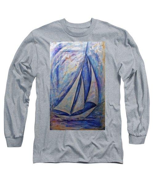 Metallic Seas Long Sleeve T-Shirt