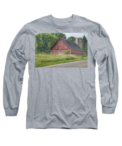 0029 - Metamora Red I Long Sleeve T-Shirt