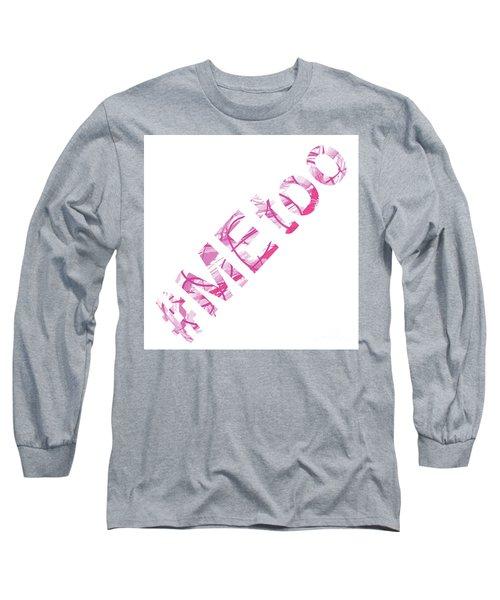 #metoo Me Too Movement Original Prints Fine Art Long Sleeve T-Shirt