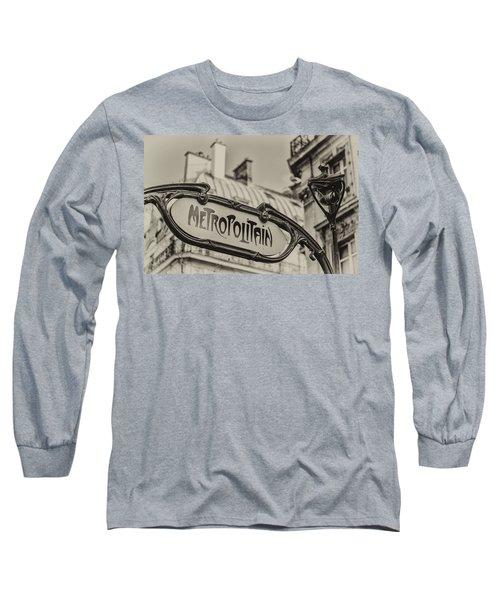 Metropolitain Long Sleeve T-Shirt
