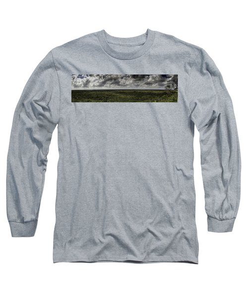 Mexican Jungle Panoramic Long Sleeve T-Shirt by Jason Moynihan