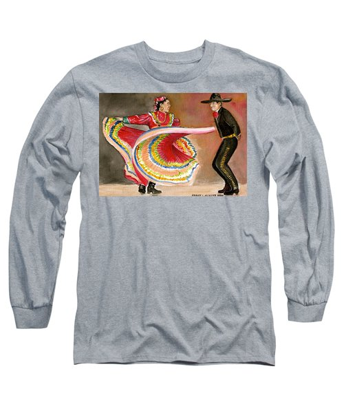 Mexico City Ballet Folklorico Long Sleeve T-Shirt