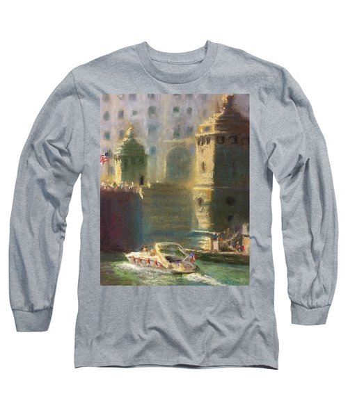 Michigan And Chicago Long Sleeve T-Shirt