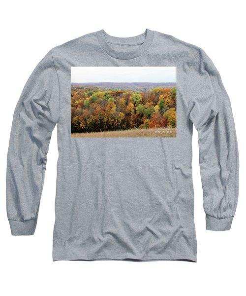 Michigan Autumn Long Sleeve T-Shirt