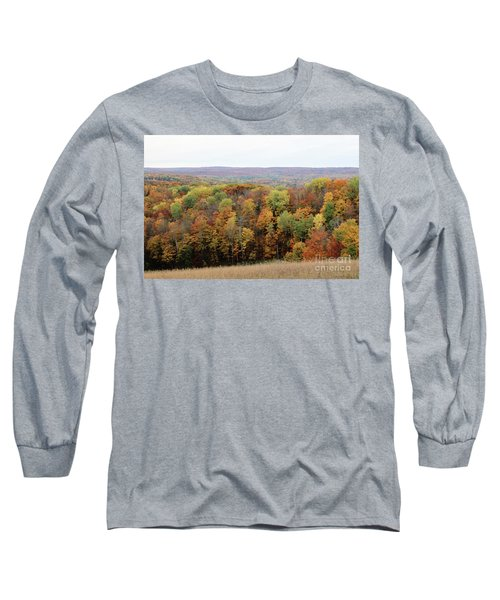 Michigan Autumn Long Sleeve T-Shirt
