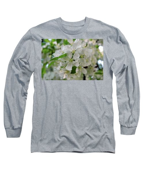 Long Sleeve T-Shirt featuring the photograph Michigan State Flower by LeeAnn McLaneGoetz McLaneGoetzStudioLLCcom