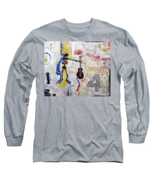 Middle-aged Musician Long Sleeve T-Shirt