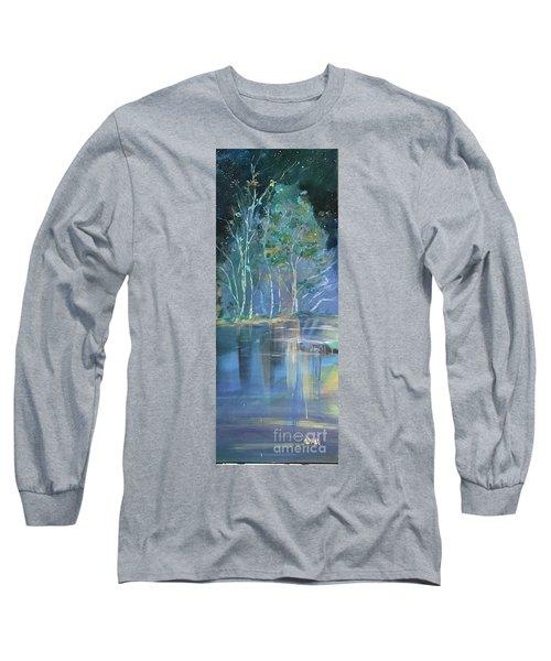 Midnight At Lake Lanier Long Sleeve T-Shirt