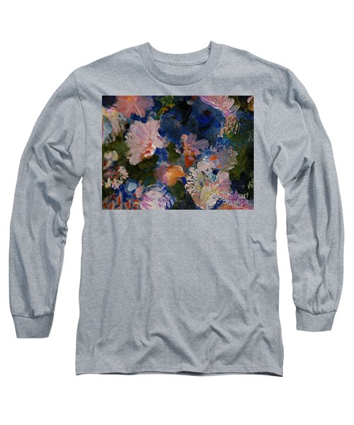 Midnight Summer's Dream Long Sleeve T-Shirt by Nancy Kane Chapman