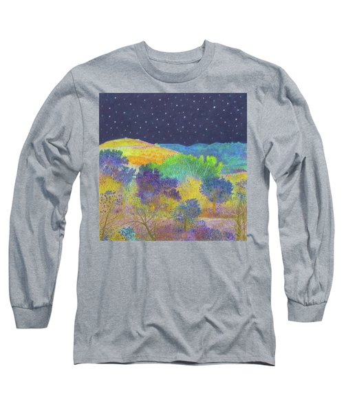 Midnight Trees Dream Long Sleeve T-Shirt