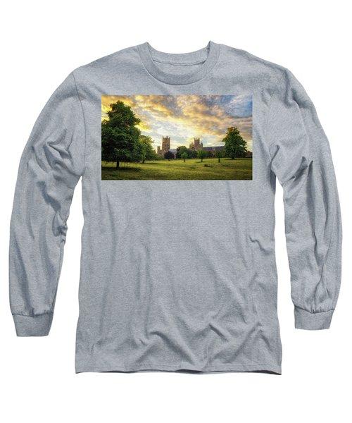Midsummer Evening In Ely Long Sleeve T-Shirt