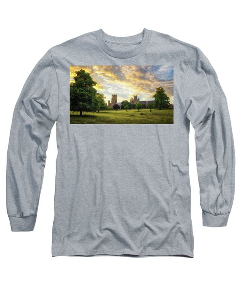 Midsummer Evening In Ely Long Sleeve T-Shirt
